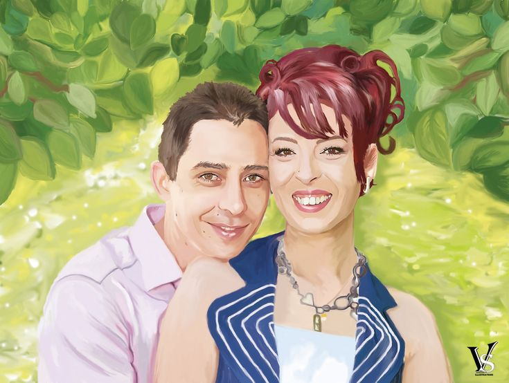 10% off Custom Couple Portrait in my #etsy shop: Valentine's Day Personalized Gift For Him,Custom Couple Portrait From Photo,Wedding Portrait Illustration,Gift For Husband,Anniversary Gift http://etsy.me/2EuP1Zr #art #drawing #purple #anniversary #etsyshop