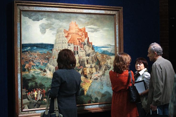 Картина Питера Брейгеля Младшего «Вавилонская башня»