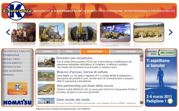 Web Site K-experience