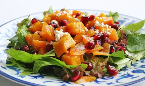 Golden Beet and Pomegranate Salad Recipe | SimplyRecipes.com