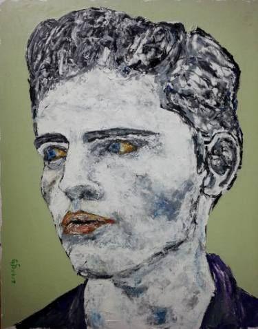 """Saatchi Art Artist George Sabin; Painting, """"US Man II"""" #art"""