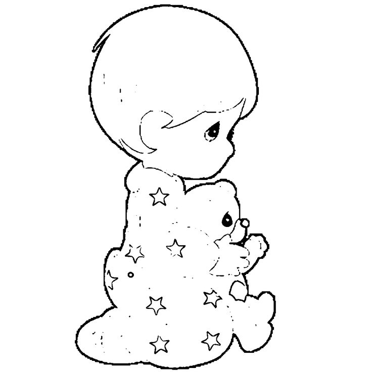 barbie_a_perfect_christmas_book_illustraition_3_cartoon_coloring_page baby boy coloring page 05