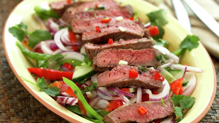 Thaiinspirert salat