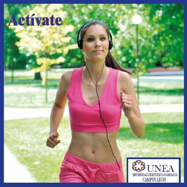 Realiza una actividad física al menos durante dos horas y media a la semana. Incluye actividades que aumenten las frecuencias cardíaca y respiratoria y que fortalezcan los músculos y huesos. Anima a los niños y adolescentes a que practiquen ejercicio al menos una hora al día.  #TipsQueAyudan. UNEA - Campus León