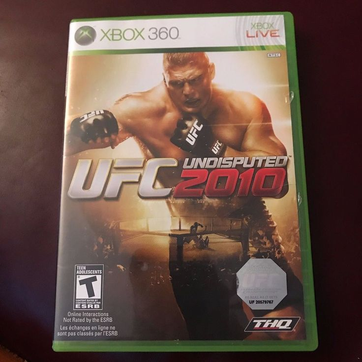 UFC Undisputed 3, (Xbox 360) preowned VGUC #THQ