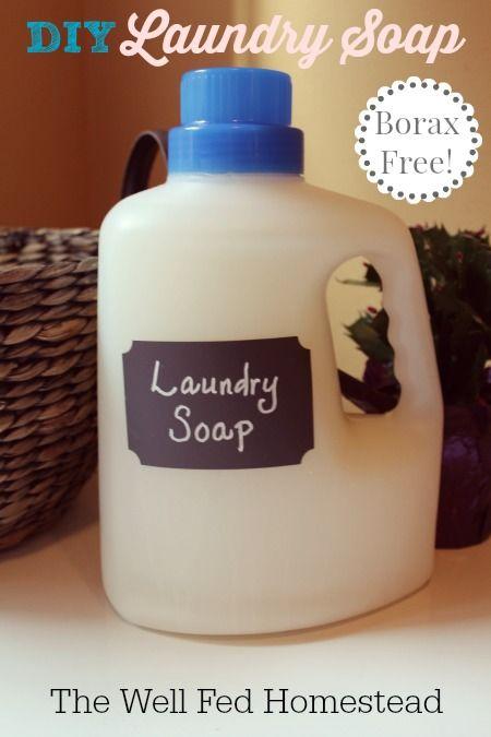 Post image for DIY Borax-Free Laundry Soap