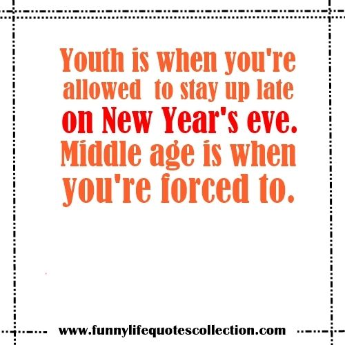 Best 25+ Funny New Year Quotes Ideas On Pinterest