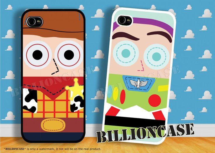 Best-Friend Woody Buzz Lightyear iPhone 5 Case