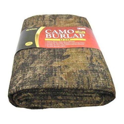 Camo Wedding Reception Ideas: Allen Company Burlap Camo Blind Fabric (Break-Up, 54-Inch