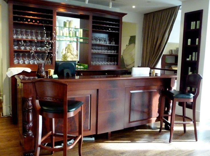 Hair salon and wine bar??