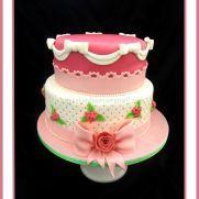 LOVELY PRINCESS CHRISTENING CAKE