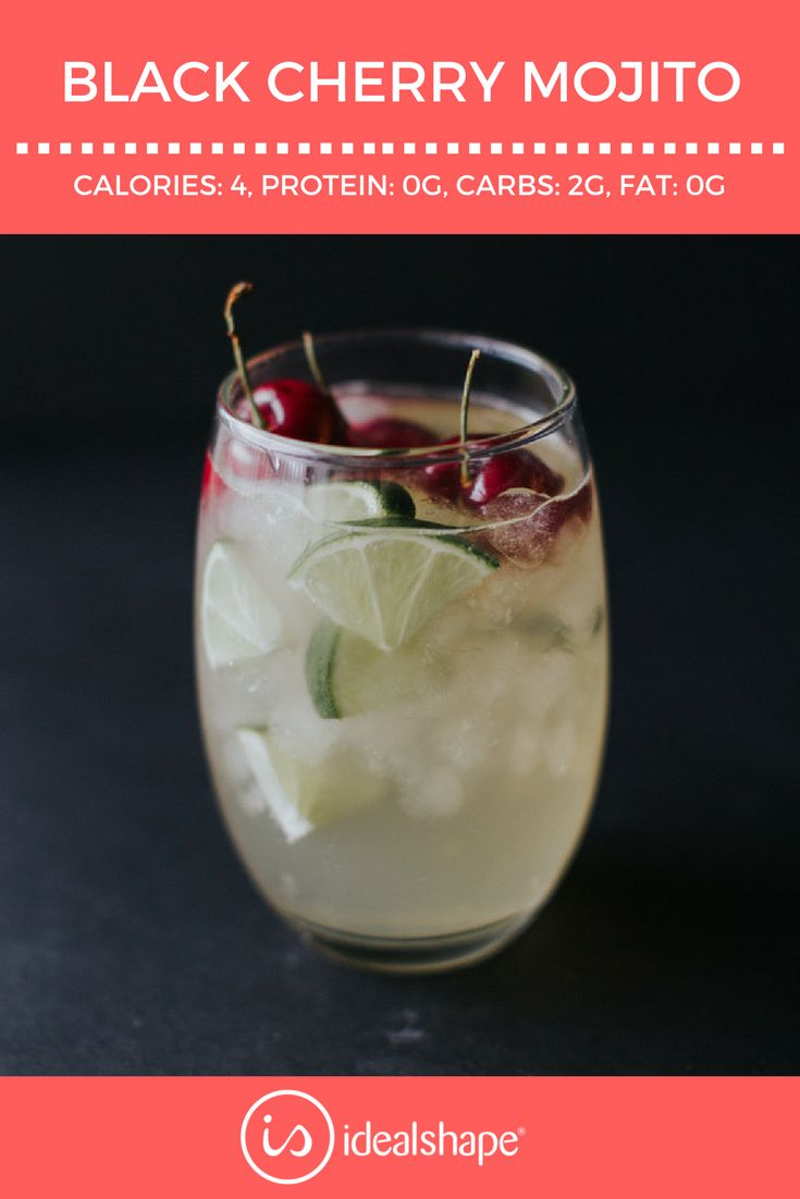 Black Cherry Mojito #mojitomix #health #weightloss