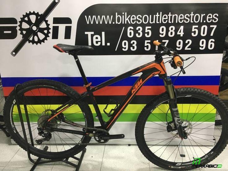 #ktmmyroonmaster1x11 Bicicleta de montaña carbono ktm myroon master talla M 17 con ... en toda España