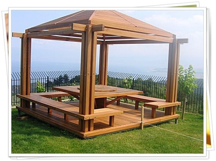 M s de 25 ideas incre bles sobre pergolas de madera en - Construir una pergola de madera ...
