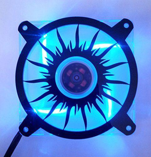 Custom Acrylic Blazing Sun 2 Computer Fan Grill 80mm