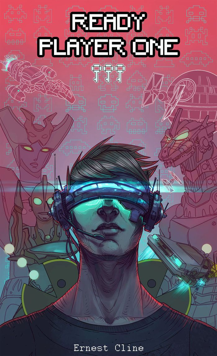 Ready Player One Alternative Cover By Shaose Ready Player One Ready Player One Book Player One