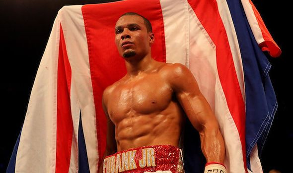 Chris Eubank Jr ranked No 7 super-middleweightdespite never having fought in the division