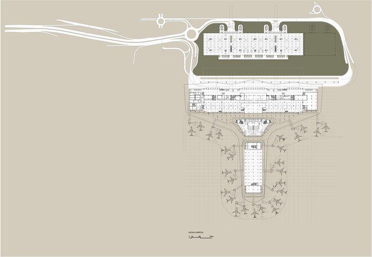 Complexo Terminal de Passageiros 3 Aeroporto de Guarulhos,Planta desembarque