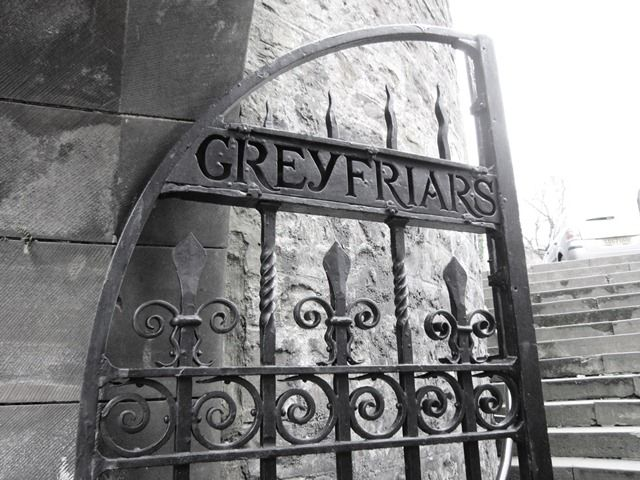 Greyfriars Cemetery. Agreed by many to be the most haunted cemetery in the entire world....scratches, faintings, people getting horribly sick...something very dark is said to be there...sometimes paramedics stand outside the gates once tours are going on...