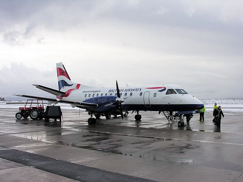 British Airways, Saab 340 (Turboprop)