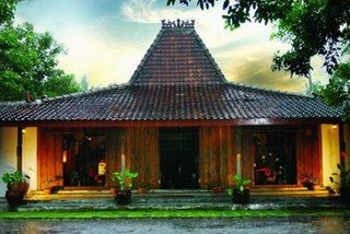 Traditional house of java. so comfortable ^_^