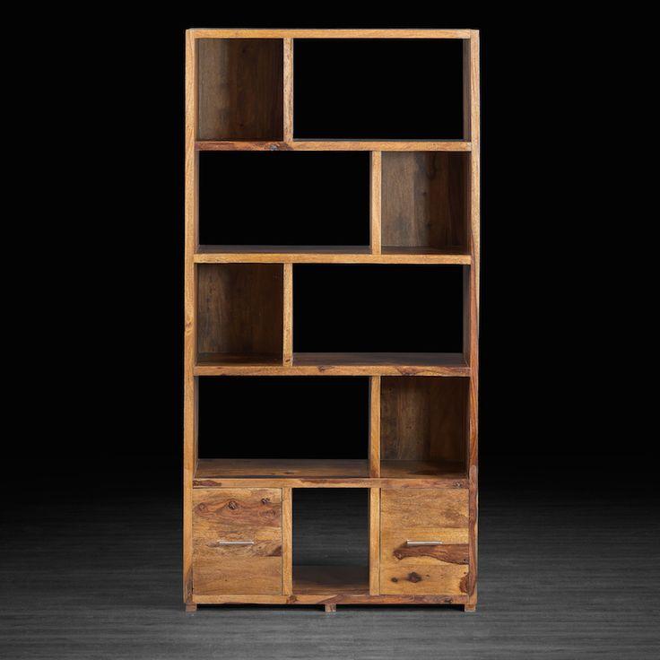 Bibliothèque Cayenne avec 2 tiroirs
