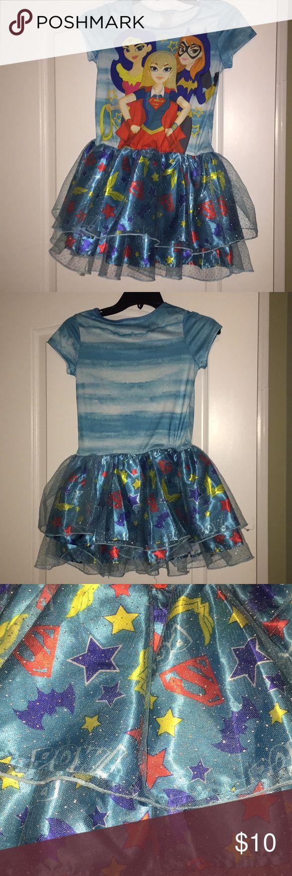 Girls Superhero Tutu Dress Girls Superhero Tutu Dress- never worn DC Superhero Girls Costumes Superhero