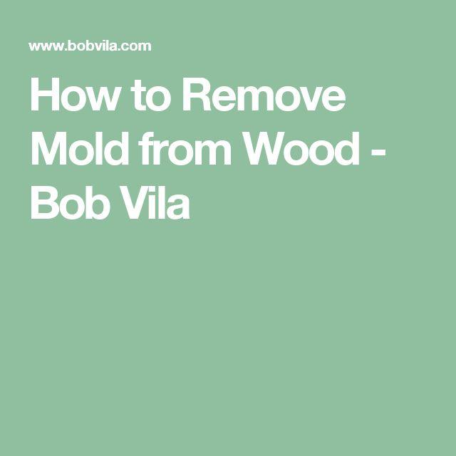 Remove Mold  Pinterest