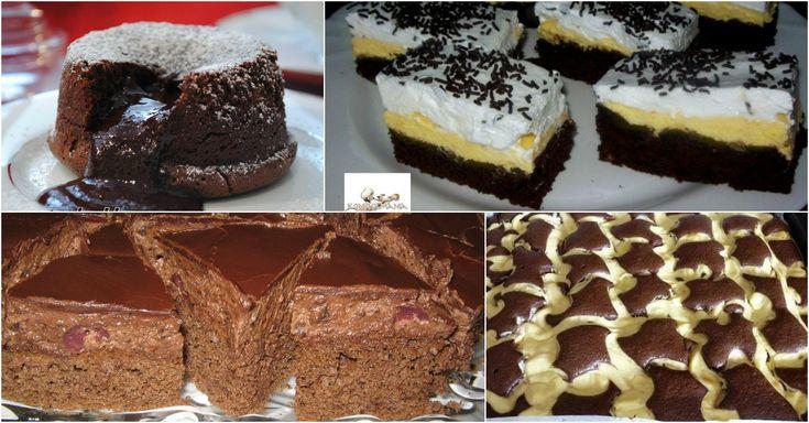 Ha szereted a csokis sütiket, akkor ezt az 5 receptet imádni fogod!