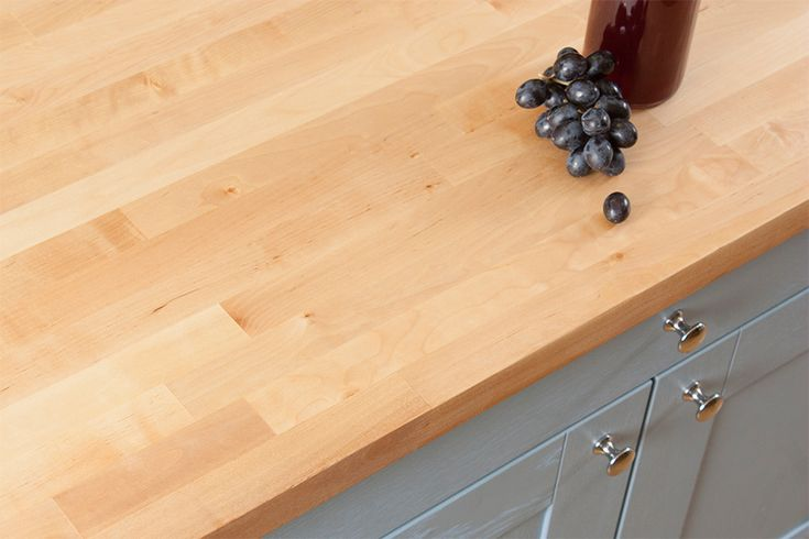 If you're looking for a light timber with more detailed grain than our maple or beech worktops, consider our birch hardwood worktops. http://www.worktop-express.co.uk/wood-worktops/birch-worktops