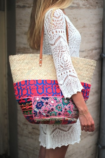 96 best manden ibiza style images on Pinterest | Bags, Basket and ...