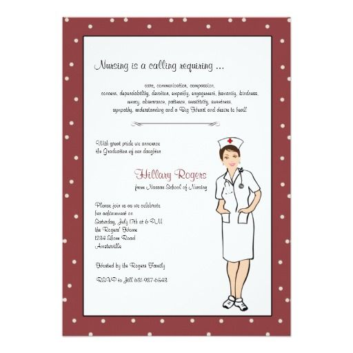 130 best nursing school graduation invitations images on Pinterest
