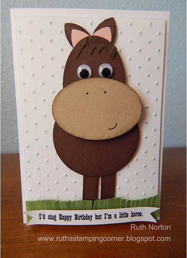 Ruth's Stamping Corner: Little Horse