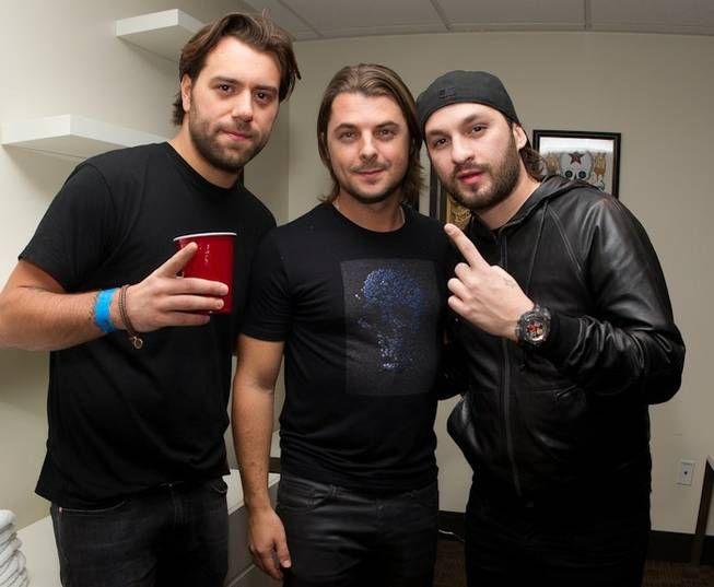 Love these guys :) - Swedish House Mafia