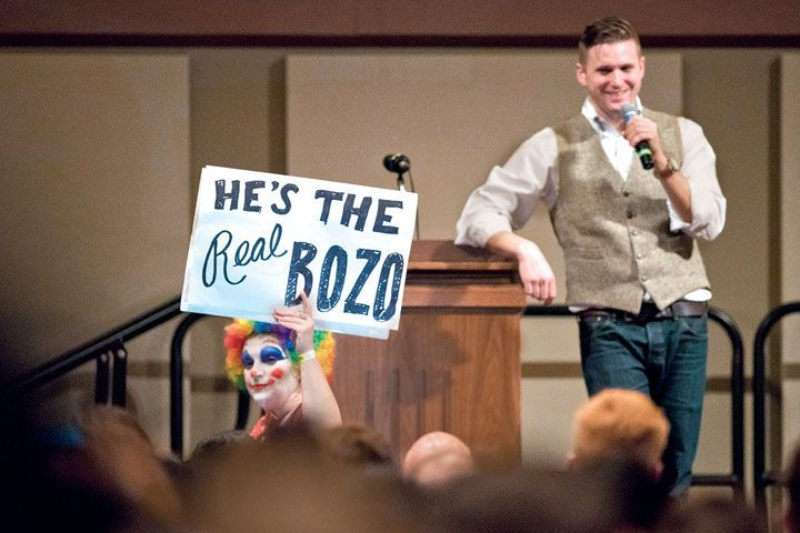 """Richard Spencer, the creator of """"Alt-Right""""; exercised his right to freely express his opinion on Dec. 6."""