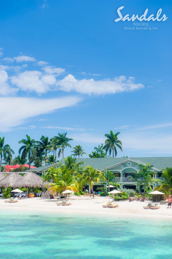 #SandalsNegril is located on the best stretch of Negril's famed Seven Mile Beach.#