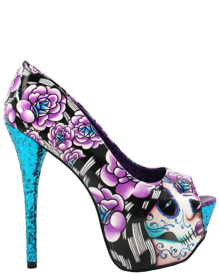 Mega Heel - Muerta bummed they sold out i have to find these asap