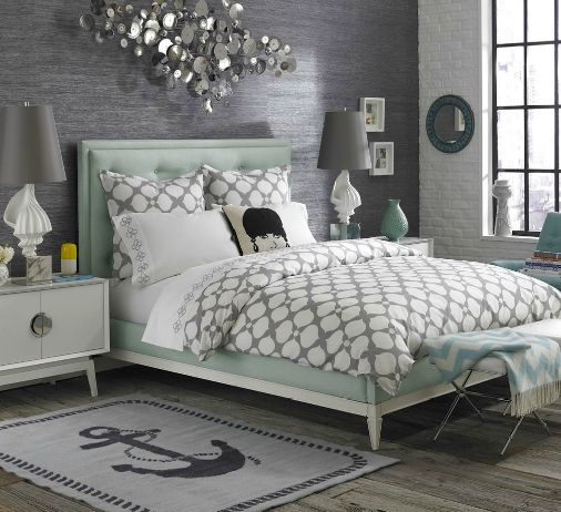 25 Romantic And Modern Ideas For Girls Bedroom Sets: 25+ Best Ideas About Mint Bedding On Pinterest