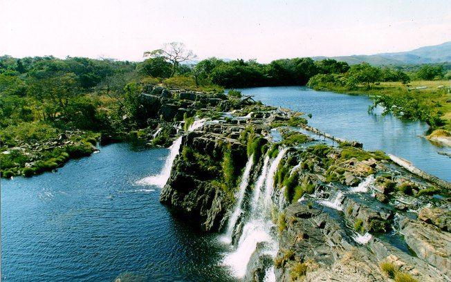 Serra do Cipó, em Minas Gerais: a região é conhecida por sua variedade de flores silvestres e cachoeiras. Foto: Vihh / Flickr