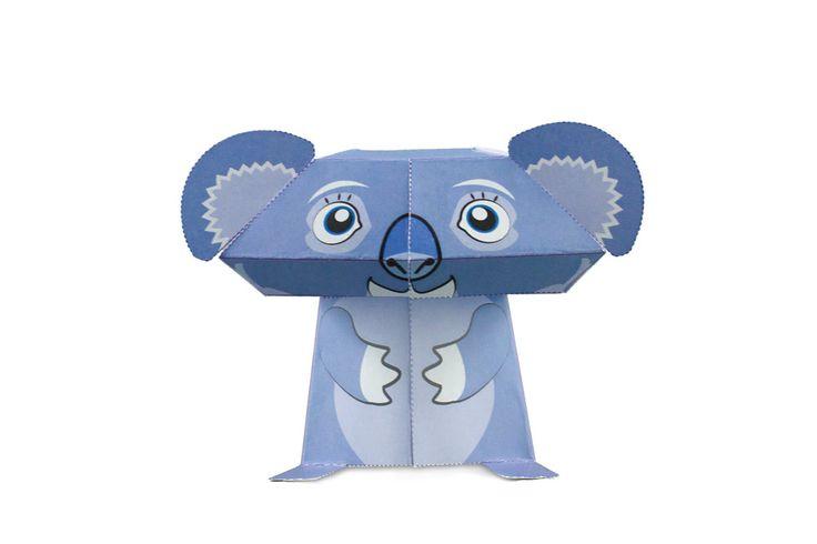 Kooee the Koala paper craft   Kooee Papercraft