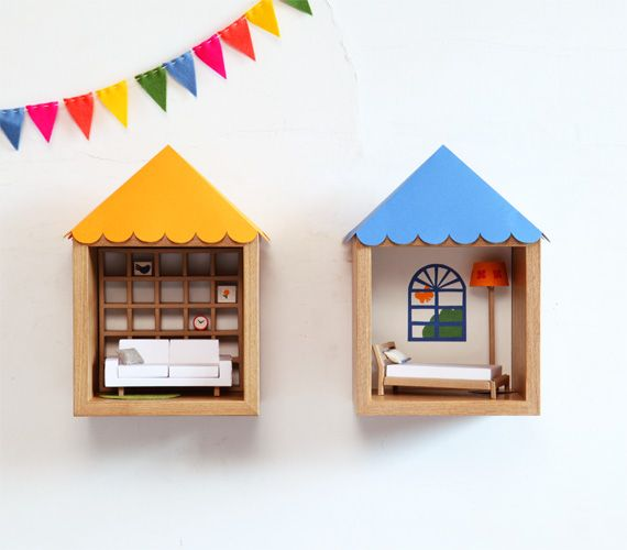 Make dolls house picture frames