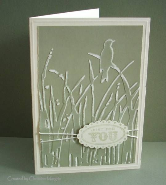 Sanded Reeds by ceedee - Cards and Paper Crafts at Splitcoaststampers