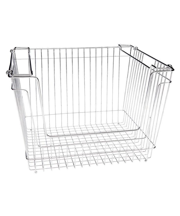 Stackable Extra Large Storage Basket