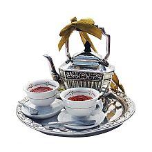 """Downton Abbey ® 4.13"""" Teapot Set Ornament - shopPBS.org"""