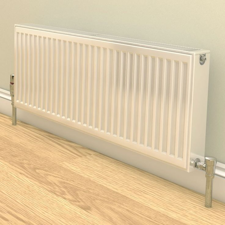 A compact single panel radiator by Stelrad.