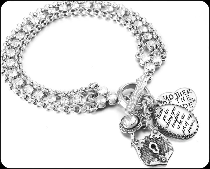 Mother Of The Bride Bracelet Gift From Groom