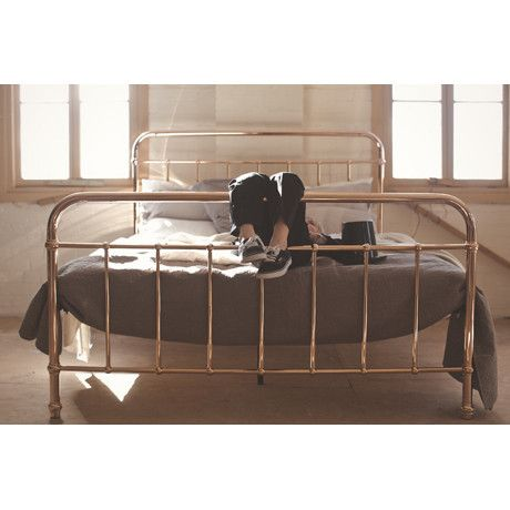 Bed Rose Gold Eden By Incy Interiors Shiny Bed Bedroom Brass Bed