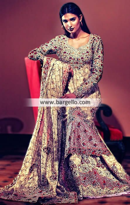 Pakistani Bridal Lehenga Dresses Artesia California CA USA Pakistani Bridal Wear D5403 Bridal Wear