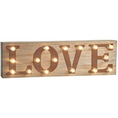 LED Love Sign - Wedding Gift