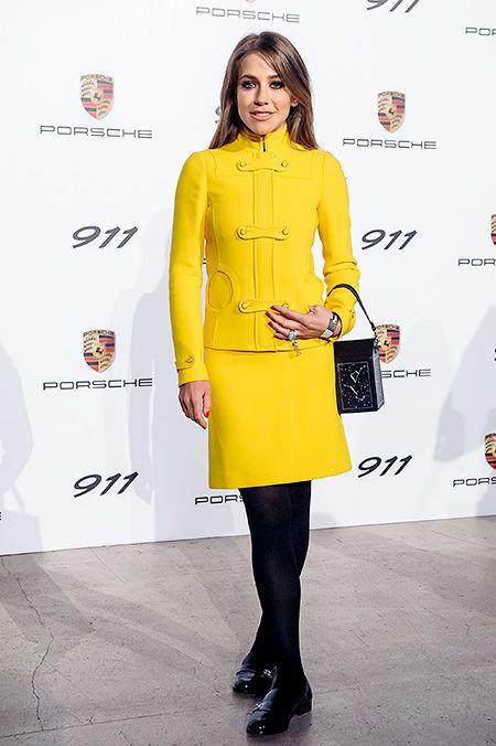Юлия Барановская, Елена Захарова и другие гости презентации новой модели Porsche
